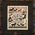 3 Billy Goats Gruff - Cross Stitch Pattern