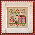 Cottage of the Month September - Cross Stitch Pattern