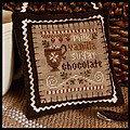 2012 Ornament 7 - Hot Cocoa - Cross Stitch Pattern