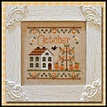 Cottage of the Month October - Cross Stitch Pattern