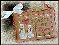 2012 Ornament 11 - Season of Love - Cross Stitch Pattern
