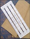 Cross Stitch Gauge (Ruler)