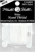 Nymo Beading Thread 100% Nylon, White