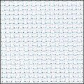 14 Count Light Blue Aida Fabric 15x18