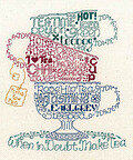 Let's Do Tea - Cross Stitch Pattern