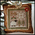 Little Sheep Virtues 1 - Hope - Cross Stitch Pattern