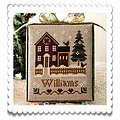 Hometown Holiday - My House - Cross Stitch Pattern