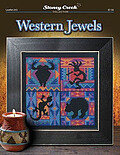 Western Jewels - Cross Stitch Pattern