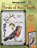 Birds Of The Month - April (American Robin)