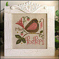 Miss Peepers - Cross Stitch Pattern