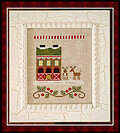 Santa's Village 6 - Reindeer Stables - Cross Stitch Pattern