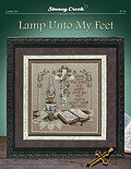 Lamp Unto My Feet- Cross Stitch Pattern