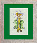 Letters from Mermaids I - Cross Stitch Pattern