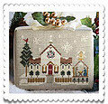 Town Church - Cross Stitch Pattern