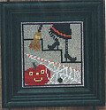 Snapper Under the Stairs Spooky Series- Stitch Pattern