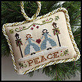 Peace (Sampler Tree) - Cross Stitch Pattern