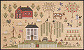 Heartland Sampler - Cross Stitch Pattern