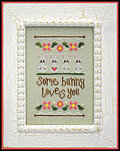 Some Bunny Loves You - Cross Stitch Pattern