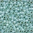 Opal Seafoam Glass Pony Beads - Size 8/0 (3mm)