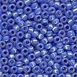 Opal Cornflower Glass Pony Beads - Size 8/0 (3mm)