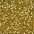 Frosted Gold Beads - Size 11/0 (2.5mm)