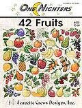 42 Fruits - Cross Stitch Pattern