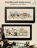 Needlework Welcomes - Cross Stitch Pattern