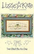 Two Shall Be As One - Cross Stitch Pattern