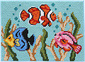 Tropical Fish - Needlepoint Kit