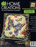 Fantasy Butterfly Pillow - Needlepoint Kit