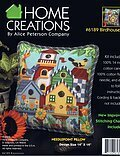 Birdhouses - Needlepoint Kit