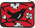 Coin Purse - Blackbird - Needlepoint Kit