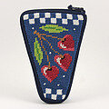 Scissor Case - Cherry Hearts - Needlepoint Kit