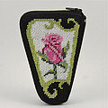 Scissor Case - Pink Rose - Needlepoint Kit