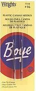 Boye Plastic Canvas Metal Needles Size 16 2/pkg