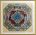 Hawaiian Garden Mandala - Cross Stitch Pattern