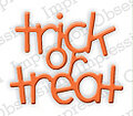 Impression Obsession Trick or Treat Halloween Die