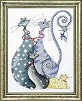 Cat Pack - Cross Stitch Kit