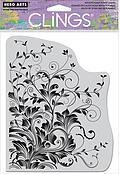 Leafy Vines - Cling Stamp