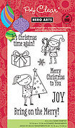 Bring on the Merry (Christmas) - Clear Stamps