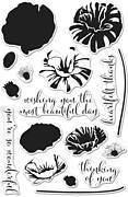 Color Layering Poppy - Clear Stamp