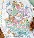 Noah's Ark Crib Quilt Top - Embroidery Kit