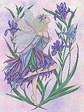 Iris Fairy - Cross Stitch Pattern