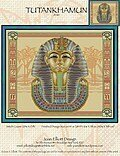 Tutankhamun - Cross Stitch Pattern