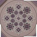Amethyst Snowflake - Cross Stitch Pattern
