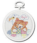 Dreaming Kitty Mini - Cross Stitch Kit