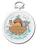 Noah's Ark Mini - Beginner Cross Stitch Kit