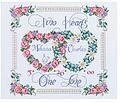 Two Hearts, One Love Wedding Sampler - Cross Stitch Kit