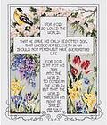 John 3:16-17 - Cross Stitch Kit