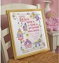 Princess Birth Record - Cross Stitch Kit